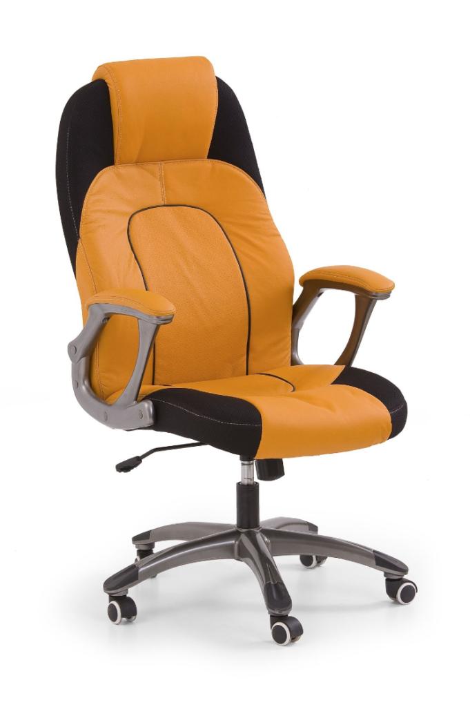 scaun ergonomic portocaliu