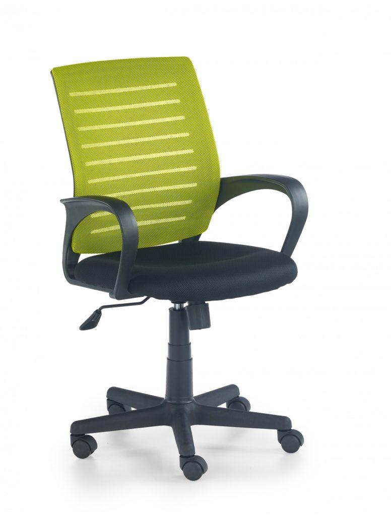 scaun verde de birou