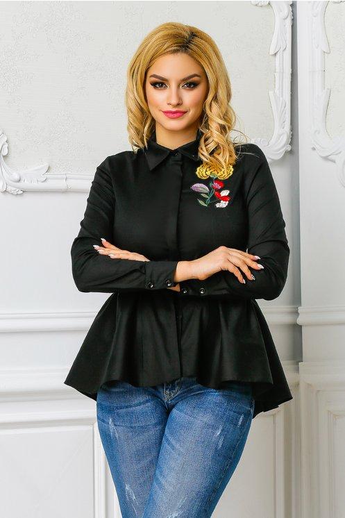 camasa de culoare neagra
