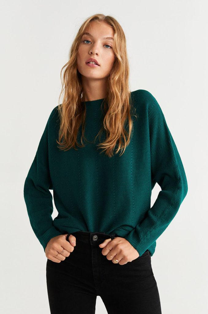 pulover Mango cu striatii