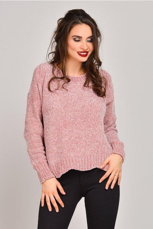 pulover dama, pulover roz