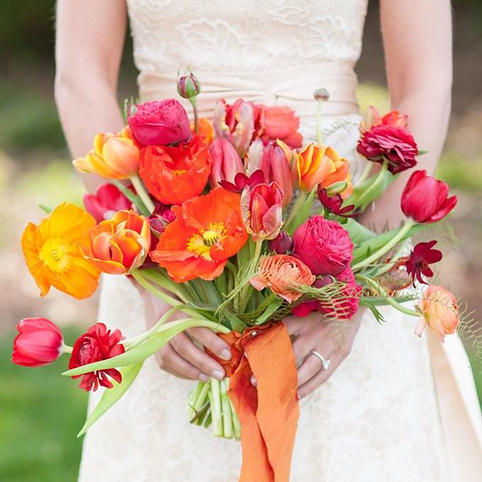 buchete de flori pentru nunti primavara