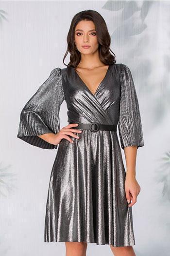 rochie-argintie-de-ocazie