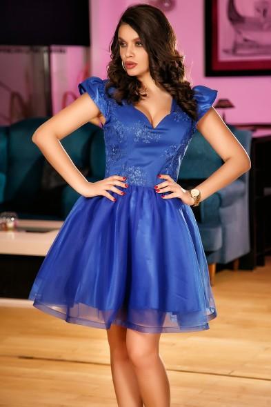 Rochie de printesa albastra