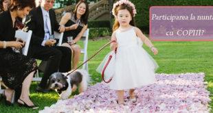 Participarea la nunta cu copiii? Iata cateva strategii - Mama si Copilul