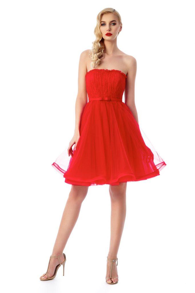 rochie corset rosie