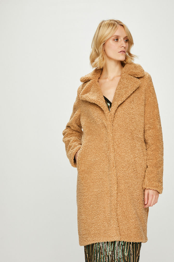 Palton calduros Teddy maro