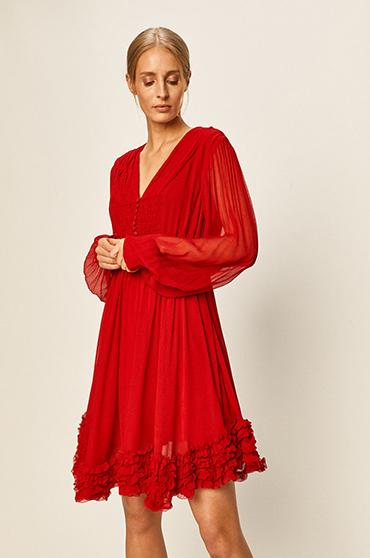 rochie jucauza rosie