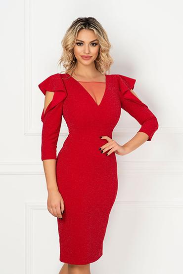 rochie-midi-rosie