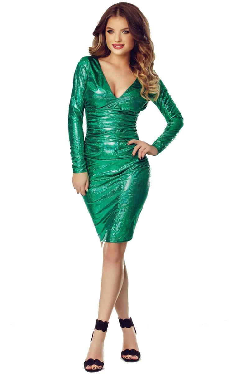 Rochie Luna Verde -