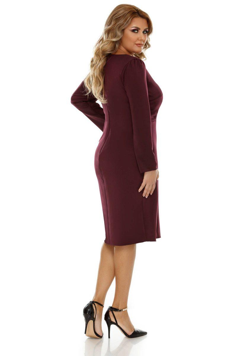 Rochie Plus Size Camila Pruna -