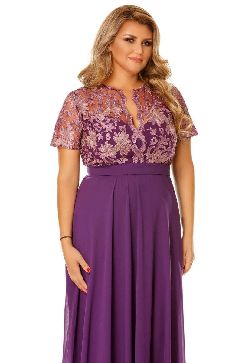 Rochie Plus Size Estela Mov -