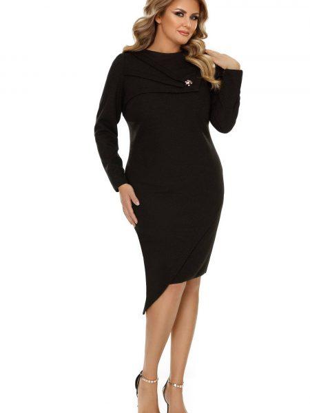 Rochie Plus Size Frida Neagra
