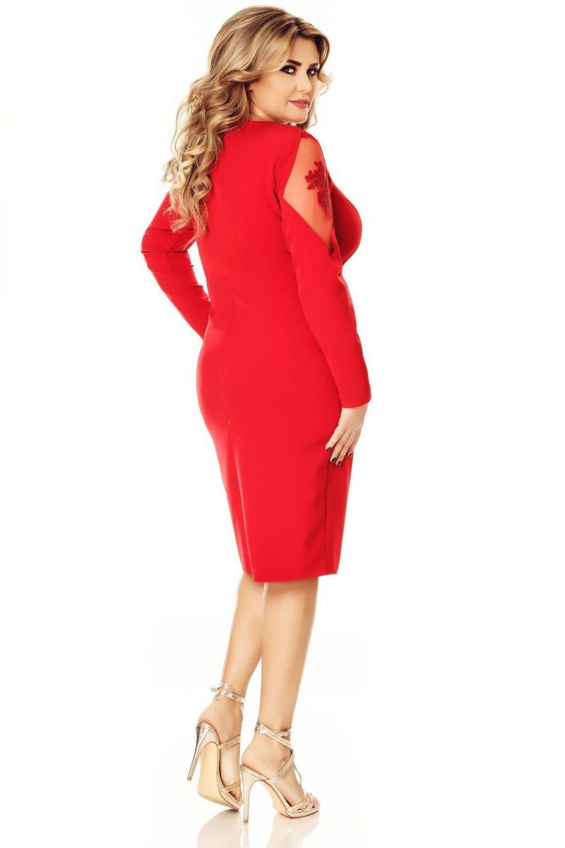Rochie Plus Size Iman Rose