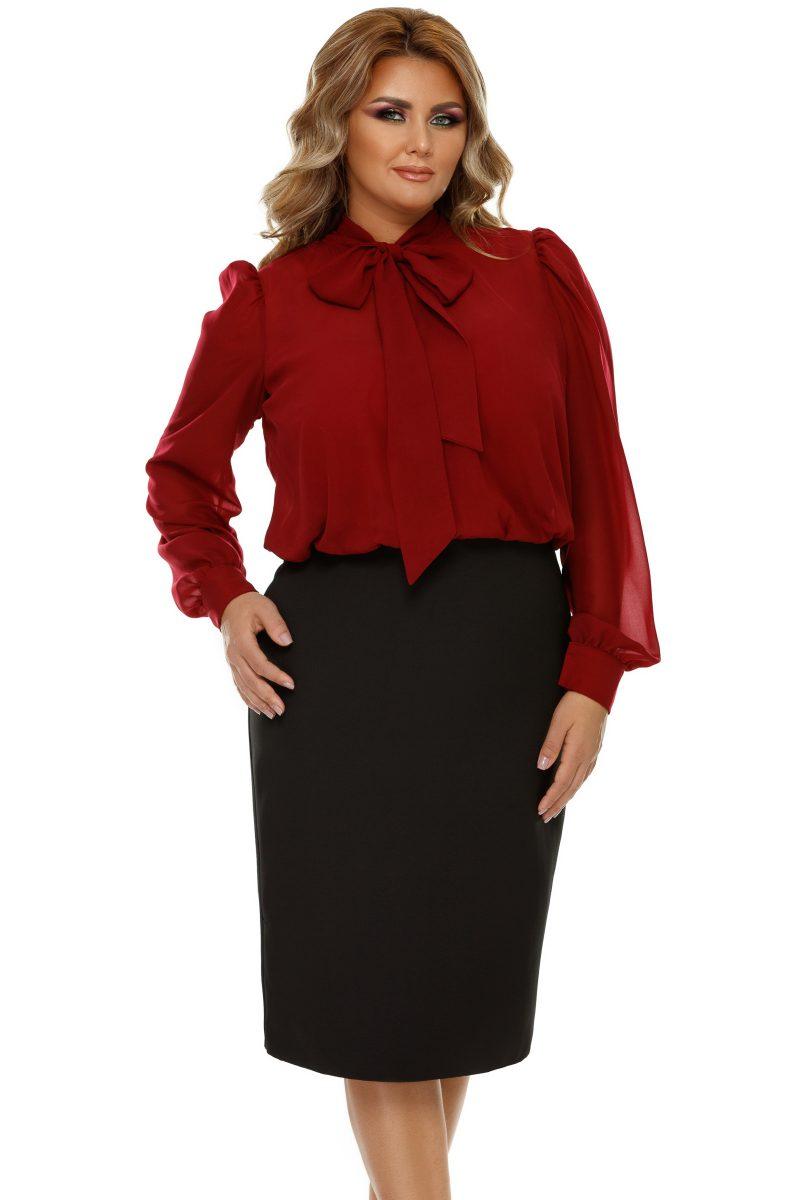 Rochie Plus Size Livia Bordo -