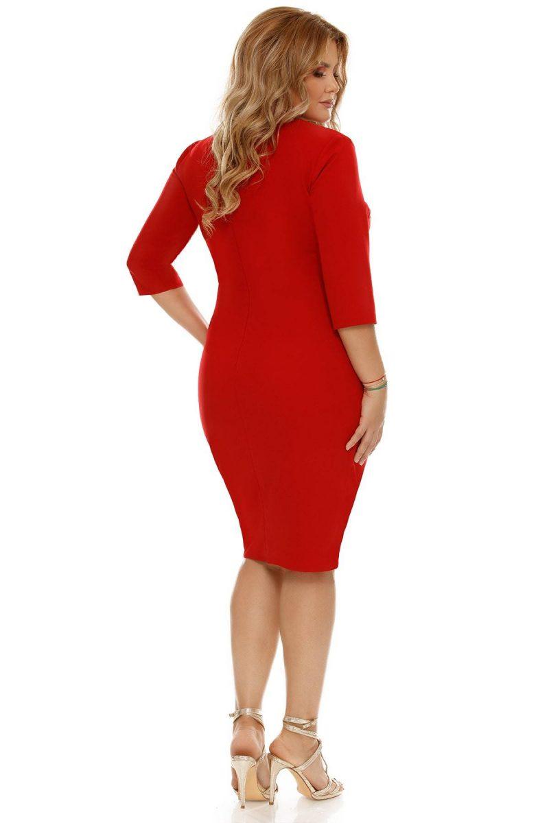 Rochie Plus Size Teresa Rose -