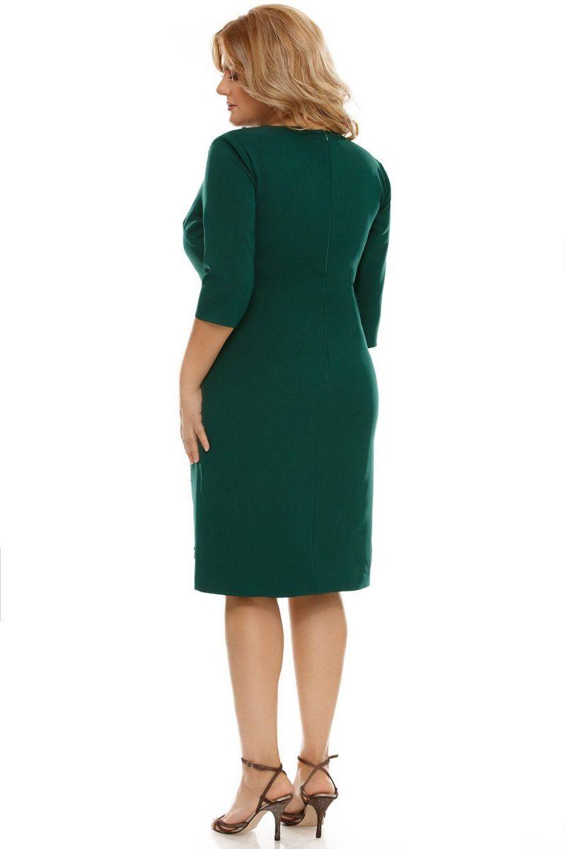 Rochie Plus Size Teresa Verde -