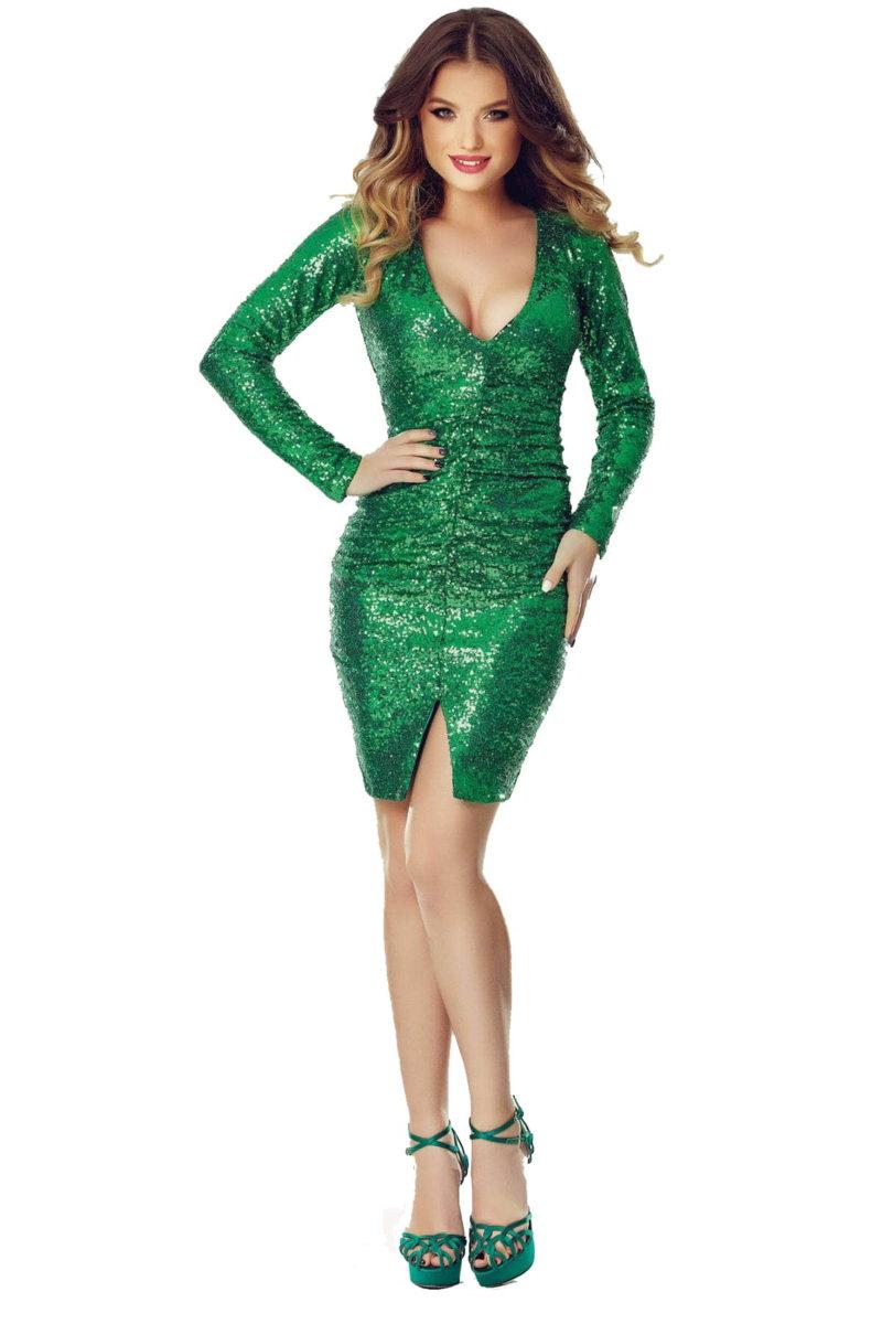 Rochie Ruby Verde -