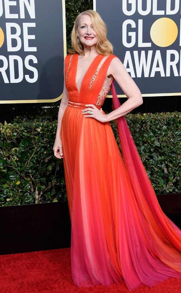 rochie rosie lunga diafana