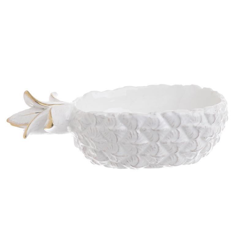 bol ceramica alba