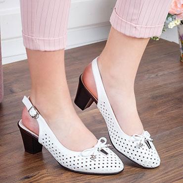 pantofi-albi-cu-fundita