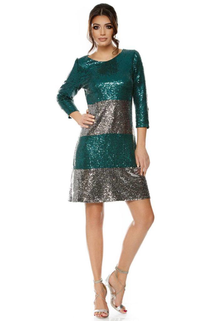 rochie din paiete pentru femei insarcinate