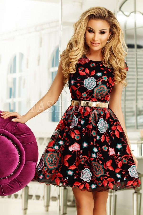 rochie gravida cu printuri florale