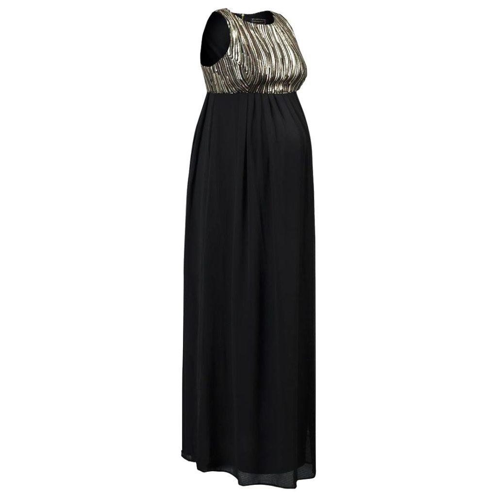 rochie lunga cu paiete pentru gravide