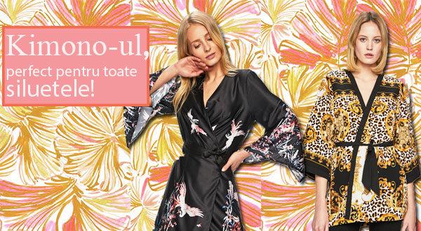 Kimono-ul e perfect pentru toate siluetele - Sfaturile noastre