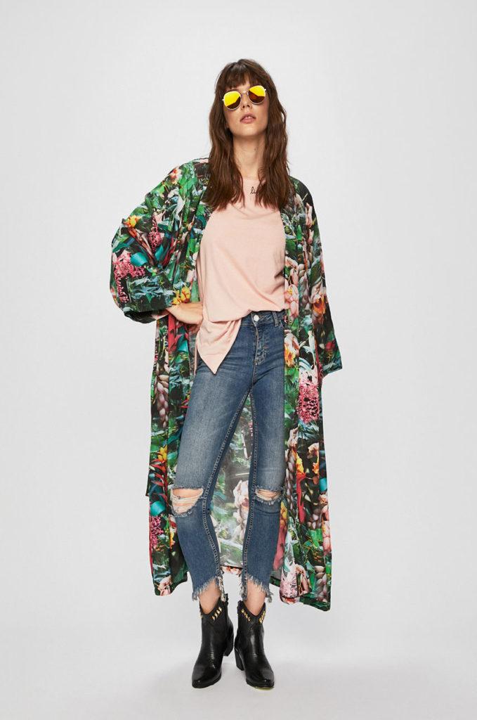 kimono lung multicolor
