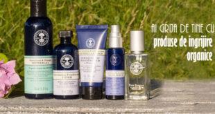 Ai grija de tine cu produse de ingrijire organice - Body & Skin