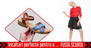 Incaltari perfecte pentru o fusta scurta - Recomandari Online