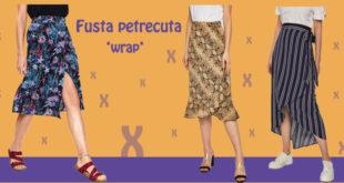 15 modele de fusta petrecuta 'wrap' - Recomandari Online