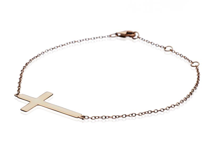 bratara cu cruce din argint