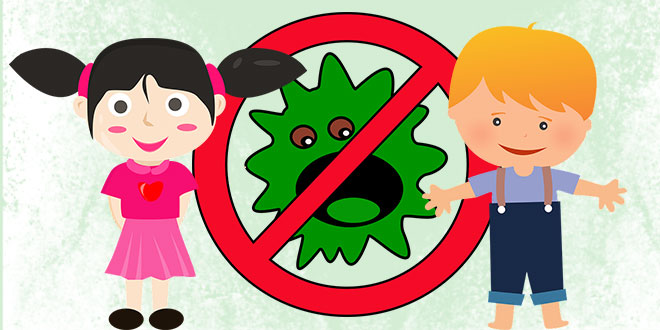 stop virusilor printre cei mici