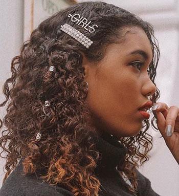 Coafuri pentru Revelion - Hairstyle