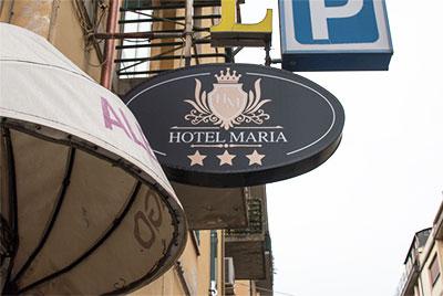 cazare hotel Maria, langa gara