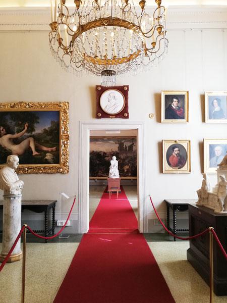 hol din Palatul Pitti