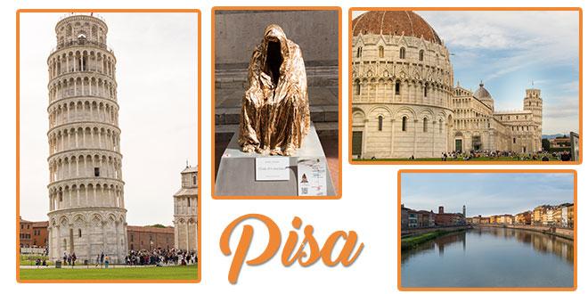 Vacanta de doua zile in Pisa