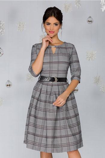 rochie-gri-infoiata-in-carouri