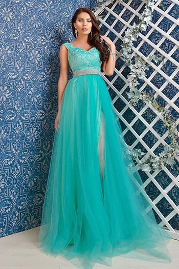 rochie-lunga-diafana-din-tul