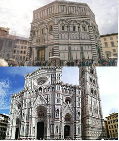 Baptisierul si Turnul din Florenta