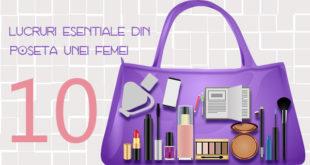 10 lucruri esentiale din poseta unei femei - lucruri esentiale