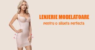 Lenjerie modelatoare pentru silueta perfecta - Body & Skin