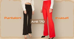 10 modele de pantaloni evazati casual - Recomandari Online