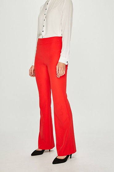 pantaloni-evazati-rosii