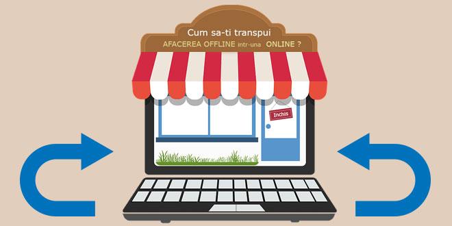 afacerea offline