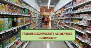 Trebuie dezinfectate alimentele cumparate? - Fashion