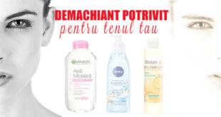 Demachiant potrivit pentru tenul tau - Beauty