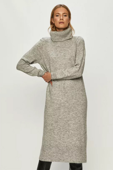 rochie-gri-tip-pulover